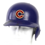 1992 Ryne Sandberg Chicago Cubs Game Worn Batting Helmet (MEARS LOA)