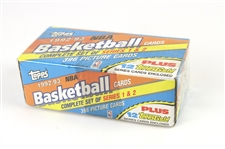 1992-93 Topps Basketball Trading Cards Sealed Factory Set
