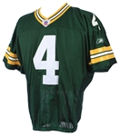 2008 Brett Favre Green Bay Packers Signed Home Jersey (Favre LOA & PSA/DNA)