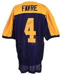 1994 Brett Favre Green Bay Packers Signed Mitchell & Ness Throwback Jersey (JSA)