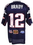 2000s Tom Brady New England Patriots Signed Jersey (JSA)