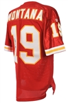 1993-94 Joe Montana Kansas City Chiefs Signed Jersey (JSA)