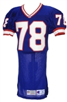 1992 Bruce Smith Buffalo Bills Game Worn Home Jersey (MEARS A10)