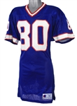 1991 James Lofton Buffalo Bills Game Worn Home Jersey (MEARS A10)
