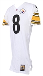 2001 Tommy Maddox Pittsburgh Steelers Game Worn Road Jersey (MEARS LOA)