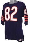 1971-73 Earl Thomas Chicago Bears Game Worn Home Jersey (MEARS A10)