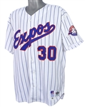 1993 Cliff Floyd Montreal Expos Game Worn Home Jersey (MEARS LOA)