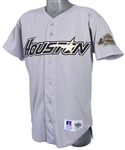 1994 James Mouton Houston Astros Game Worn Road Jersey (MEARS LOA)
