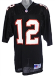 1991-93 Chris Miller Atlanta Falcons Signed Jersey (JSA)