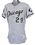 1991 Jack McDowell Chicago White Sox Game Worn Road Jersey (MEARS LOA)
