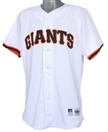 1996 Shawen Estes San Francisco Giants Game Worn Home Jersey (MEARS LOA)