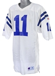 1990-91 Jeff George Indianapolis Colts Signed Road Jersey (MEARS LOA/JSA)