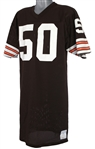 1982 Tom Cousineau Cleveland Browns Signed Game Worn Home Jersey (MEARS LOA/JSA)