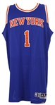 2014 (December 12) Amare Stoudemire New York Knicks Game Worn Road Jersey (MEARS LOA/Steiner)