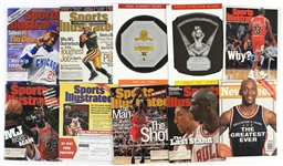 1970s-2010s Baseball Basketball Football Magazine Collection - Lot of 50+