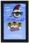 "1989 Major League Berenger / Sheen / Bernsen Signed 13""x 19"" Framed Film Poster (PSA/DNA)"