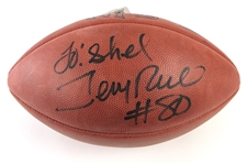 2000s Jerry Rice San Francisco 49ers Signed ONFL Tagliabue Football (JSA)