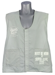 1997 Green Bay Packers New England Patriots Super Bowl XXXI Sideline Vest (MEARS LOA)