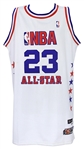 2003 Michael Jordan Washington Wizards Eastern Conference All Star Jersey (MEARS A5)