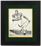 "1967-70 Travis Williams Green Bay Packers Signed 13"" x 15"" Framed Photo (JSA)"