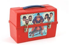 1980 Superman II Aladdin Industries Plastic Lunchbox