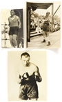 1920s Jack Sharley Heavy Weight Champion Original Boxing Photo (Lot of 3)