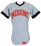 1972 Frank Duffy Cleveland Indians Road Style Jersey (MEARS LOA)