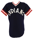 1975-77 Cleveland Indians Alternate Style Jersey (MEARS LOA)