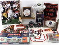 1990s-2000s Baseball Football Basketball Memorabilia Collection - Lot of 46 w/ Signed Mini Helmet, Signed Photos & More