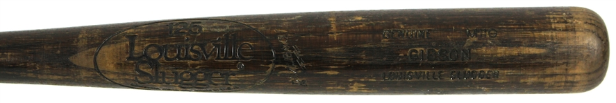 1980-83 Kirk Gibson Detroit Tigers Louisville Slugger Professional Model Game Used Bat (MEARS LOA)