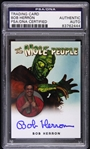 1956 Bob Herron The Mole People Signed LE Trading Card (PSA/DNA Slabbed)