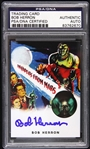 1953 Bob Herron Invaders from Mars Signed LE Trading Card (PSA/DNA Slabbed)