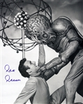 1955 Rex Reason This Island, Earth Signed LE 16x20 B&W Photo (JSA)