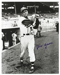 1954 Hank Aaron Milwaukee Braves Rookie #5 Signed LE 16x20 B&W Photo (JSA)
