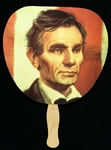 "Abraham Lincoln Presidential 9""x 12"" Fan"