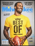 2013 James Jones Green Bay Packers Milwaukee Magazine
