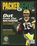 2008 Aaron Rodgers Green Bay Packers Packer Report