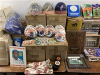 1970s-2000s Baseball, Basketball, Football, Olympic Sport Items and more (Lot of 1,200+)