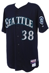 2013 Mike Morse Seattle Mariners Game Worn Alternate Jersey (MEARS LOA/MLB Hologram)