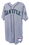 2013 Kendrys Morales Seattle Mariners Game Worn Road Jersey (MEARS LOA/MLB Hologram)