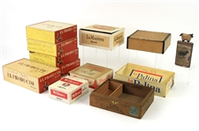 Vintage El Producto Cigar Boxes and Cigarette Cartons (Lot of 20+)