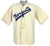 1920s Marquette Game Worn Wright & Ditson Baseball Uniform (MEARS LOA)