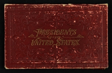 1841 Presidents of the United States Accordion-Fold Booklet