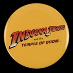 "1984 Indiana Jones and the Temple of Doom 2 1/4"" Pinback Button"