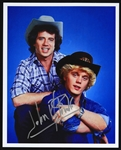 1979-1985 John Schneider Dukes of Hazzard Signed 8X10 Photo (JSA)