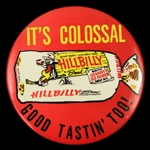 "1970s Hillbilly Bread ""Its Colossal Good Tastin Too!"" 4"" Pinback Button"