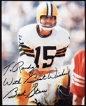 1956-1983 Bart Starr Green Bay Packers Signed 8x10 Photo (JSA)