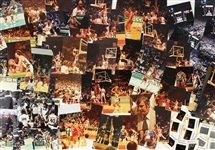"1970s-1980s Milwaukee Bucks and Los Angeles Lakers 4""x 6"" Basketball Photos and Kodak Color Slides (Lot of 70+)"
