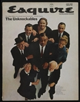 "1966 Esquire Magazine ""The Unknockables"" featuring Joe Louis, Jimmy Durante and more"
