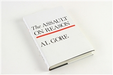 2007 Al Gore Vice President Signed The Assault on Reason Hardcover Book (JSA)